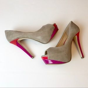 GIANNI BINI Womens Platform Heels Sz 5.5